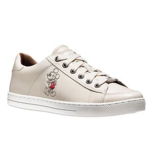 Coach x Disney Leather Sneakers